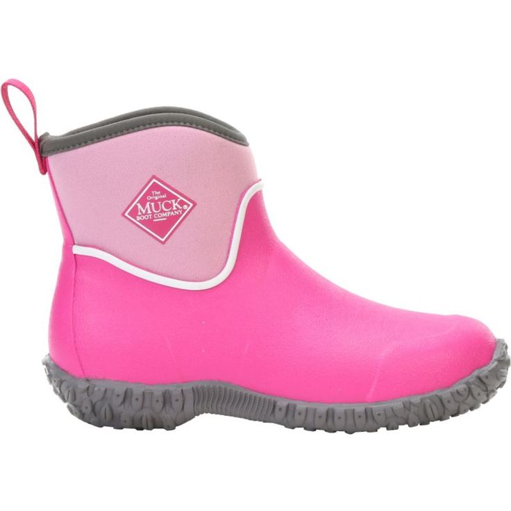 Muck Boots Kids' Muckster II Ankle Rain Boots, Kids Unisex, Size: 11K, Pink