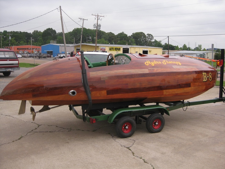 Designed by Bruce N. Crandall approx. 1936. Flyer is the largest of the Crandall hydroplanes ...