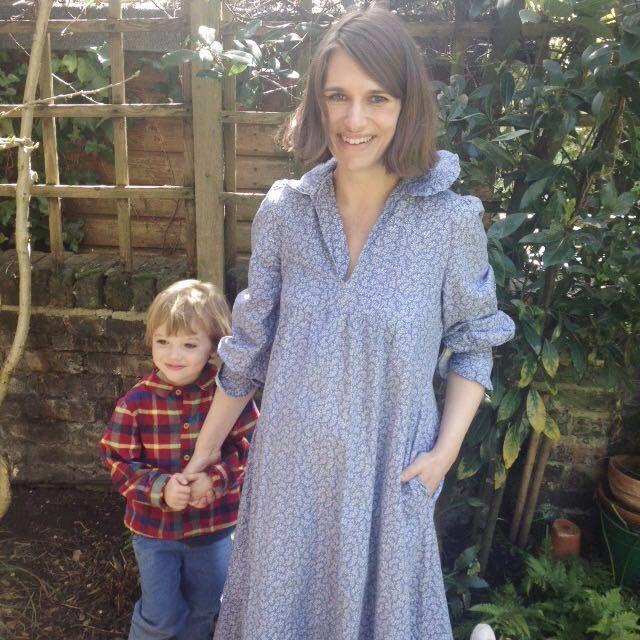 Laura Ashley vintage maternity