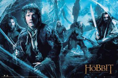 The Hobbit Pustkowie Smauga Mirkwood - plakat