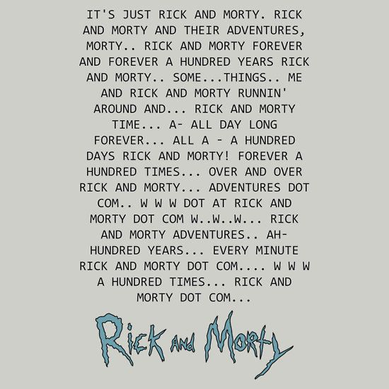 Best Rick And Morty Quotes: 25+ Best Rick And Morty Quotes On Pinterest