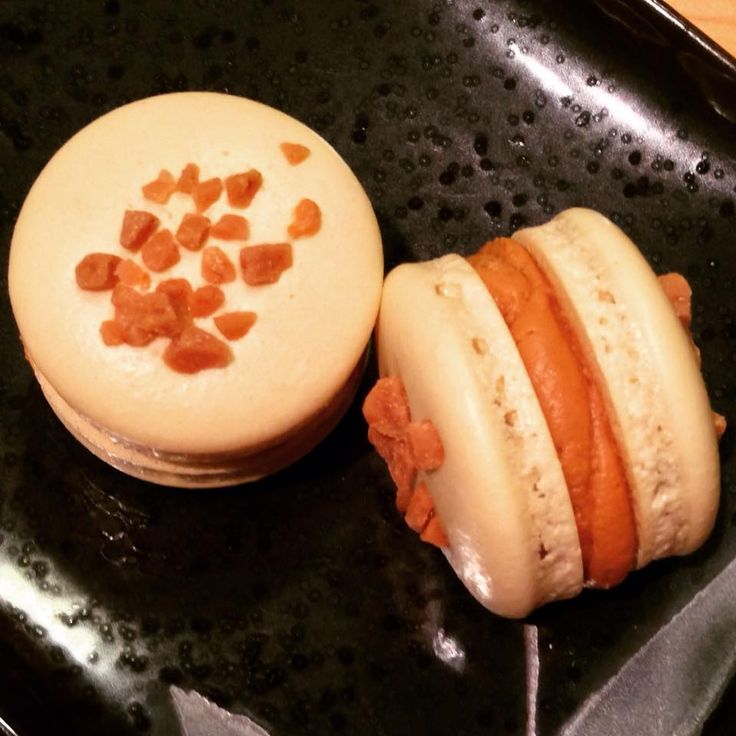 salted caramel macarons.. made from scratch #qtipkitchen