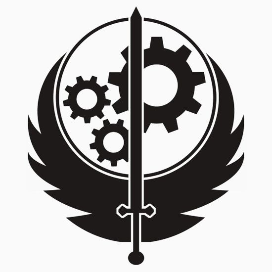 BeeDoo Brotherhood of Steel T-Shirt Fallout 4