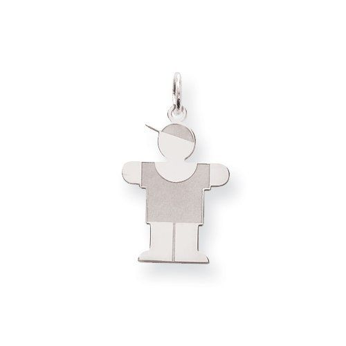 Sterling Silver Hugs Kid Charm Real Goldia Designer Perfect Jewelry Gift goldia. $21.63