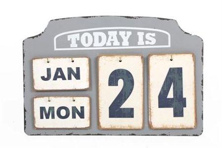 Flip Style Calendar £9.75