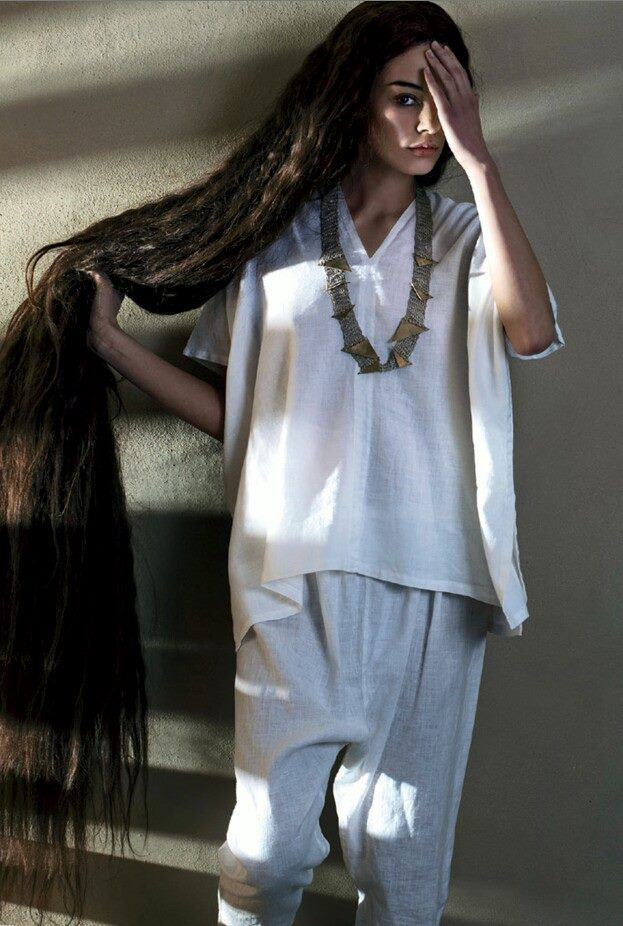 Ankle Length Long Black Hair Volkosh ♔ Beautiful Long