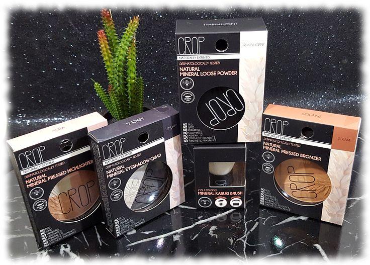 kats colourings: Bloggiversary Giveaway - Crop Mineral Cosmetics!...