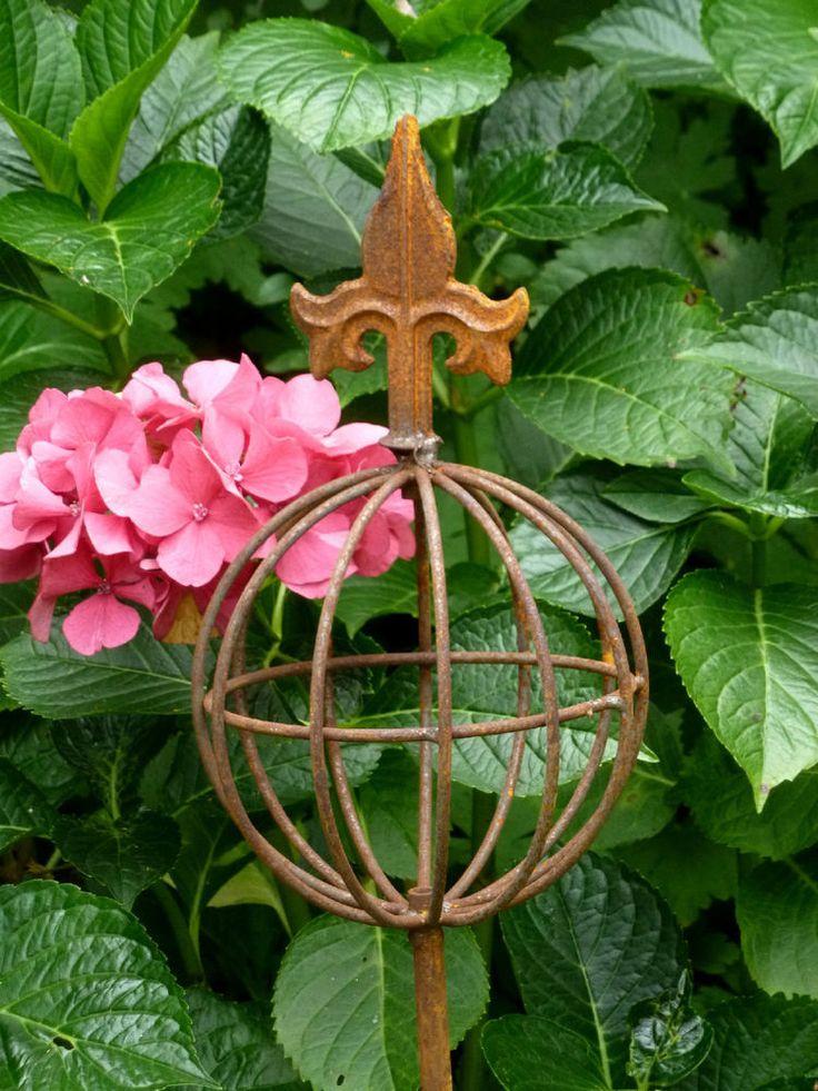 103 besten gartendeko rost bilder auf pinterest garten for Gartendeko rost stecker