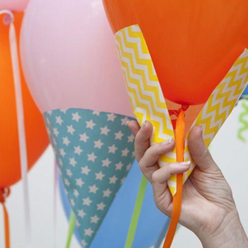 Decoración con globos en forma de helado.                                                                                                                                                      Más