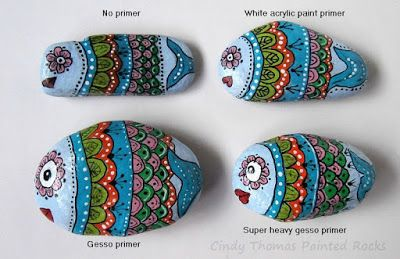 Is Gesso a Good Primer for Painted Rocks?