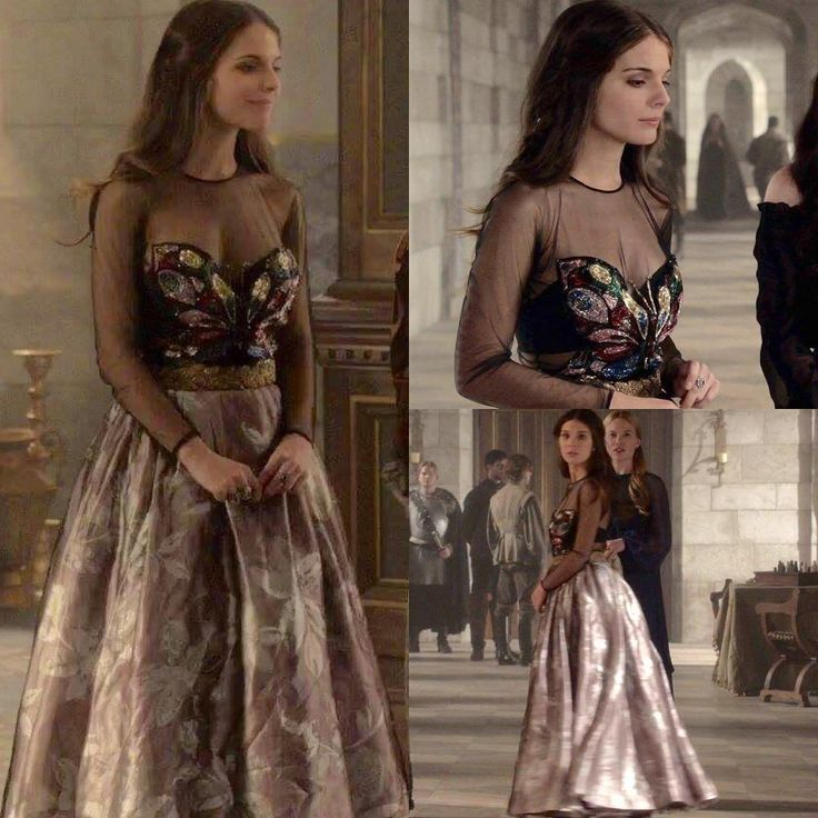 "555 Likes, 11 Comments - A Reign Fan Account❤AgentGreer (@everythingreign) on Instagram: ""Every dress Kenna ever worn ™ Season 1, Episode 13 ""The Consummation""  The butterfly dress again, I…"""