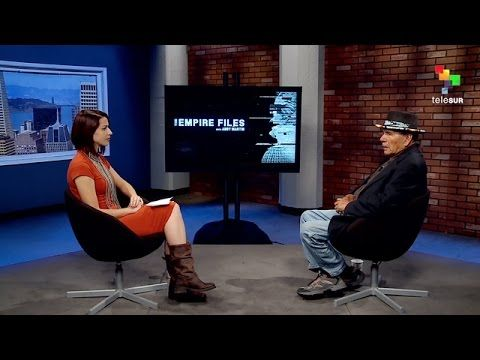 """9Oct.2016 """"The Empire Files: Fighting at Standing Rock with AIM Founder Dennis Banks"""" #NOdapl"""