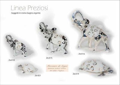 """https://mercantedisognivoghera.blogspot.it/2016/11/collezioni-la-preziosi-bagno-argento-e.html   Collezioni L'A Linea """"PREZIOSI"""" Figure animali in bagno d'argento e abbinamento vetro lavorato a mano  ISTRICE - TARTARUGA DI TERRA E DI MARE ELEFANTE - CHIOCCIOLA"""