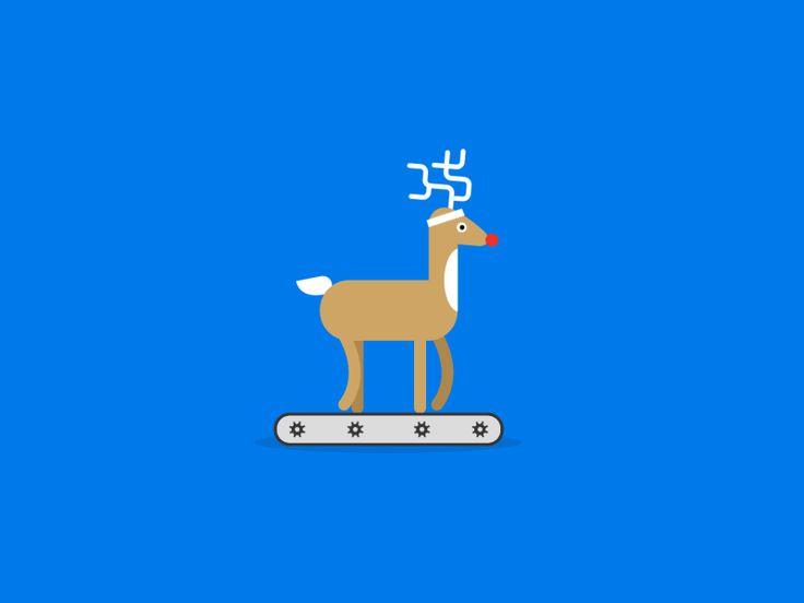 Check it out! https://www.behance.net/gallery/Google-Santa-Tracker-Animations/13381409  Awesome people like Haraldur Thorleifsson and Glenn Jones have been involved. http://haraldurthorleifsson.com...