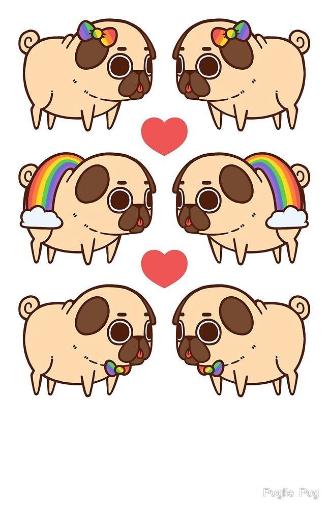 Puglie Pride by Puglie  Pug