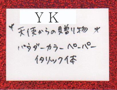 """""""Y""""額装 シャネルラブ"""