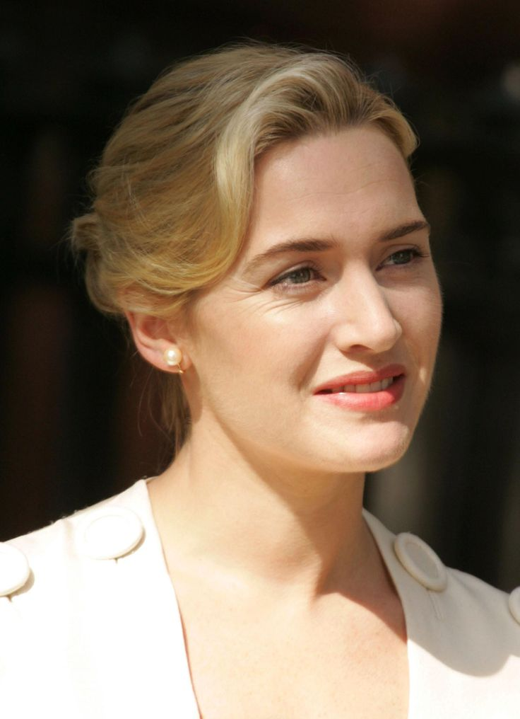 Kate Winslet.She is the same age as me:)