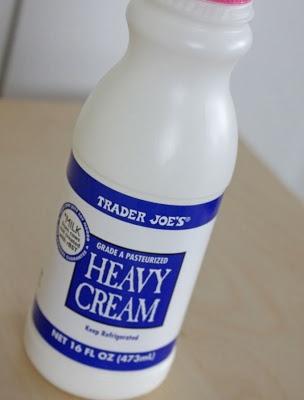 how to make heavy cream from fresh cream