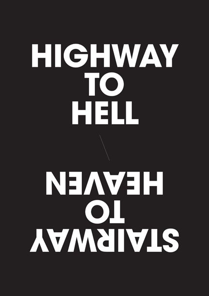 highway to hell, stairway to heaven