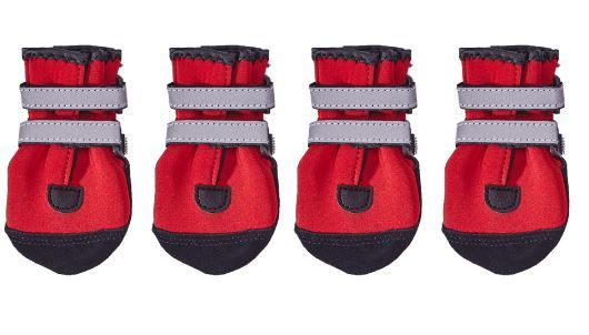 PAWSH PADS DOG BOOTS available in RED