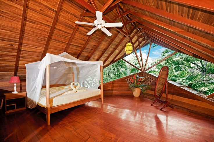 Natural and Eco friendly Tree Houses For Rent in Costa Rica   DesignRulz.com