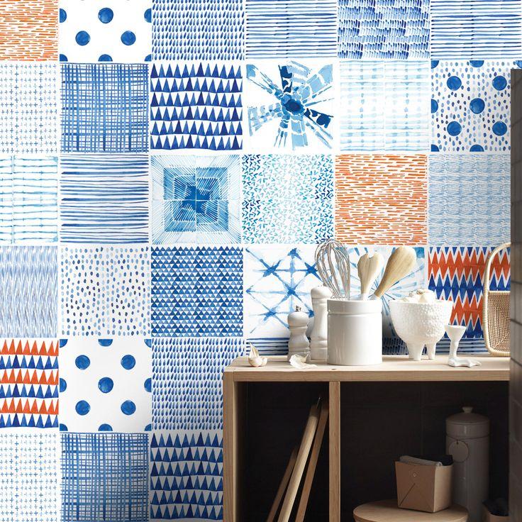 110 best images about tile stickers on pinterest self. Black Bedroom Furniture Sets. Home Design Ideas
