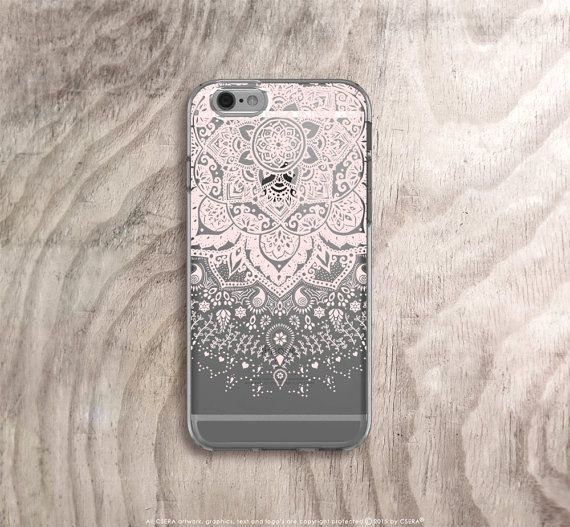 Pink mandala iPhone 6s case https://www.etsy.com/uk/listing/259459820/iphone-6s-case-clear-mandala-iphone-6s
