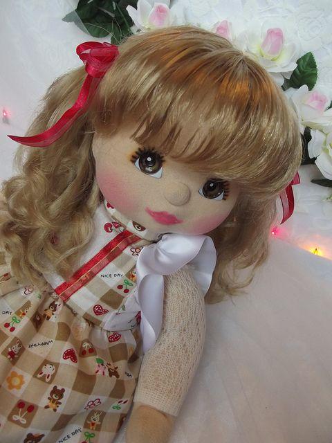 Mattel My Child Doll ~ Peach skin V-Part ~ Commission Reroot and Restore   Flickr – Condivisione di foto!