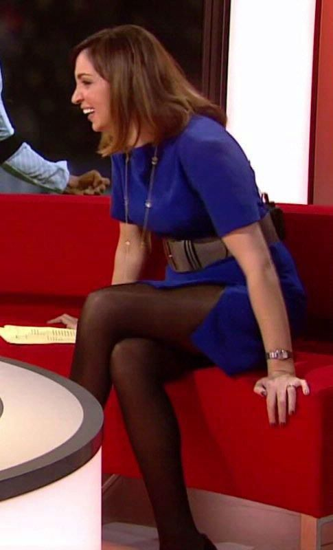 Sally Nugent - BBC Sports Presenter on Breakfast TV