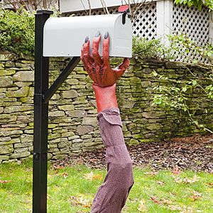 Halloween Mailbox Monster Craft