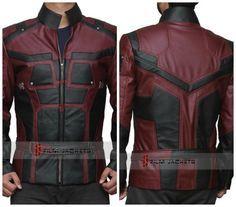 Brutal chaqueta basada en el diseño del traje de Daredevil | Fusion Freak