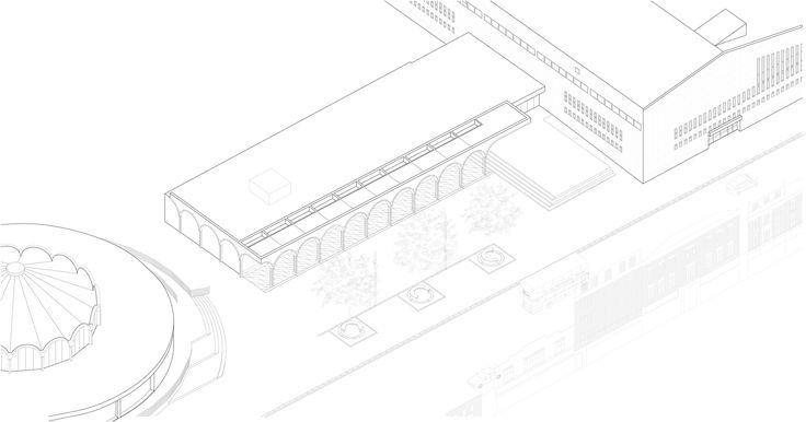 Barkingside Town Centre,Isometric 1
