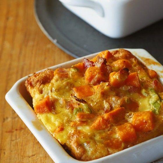 Süßkartoffel-Frittata