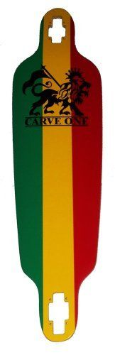"Carve-One Blank Rasta Downhill Drop-thru Longboard Deck 39.75"" by Carve Designs. $40.99. Brand New, Top Quality Carve-one Longboard Deck"