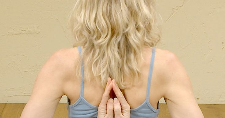 Try these two simple stretches for your shoulders. These are great if you spend your day sitting at a desk or for anyone with stiff shoulders.