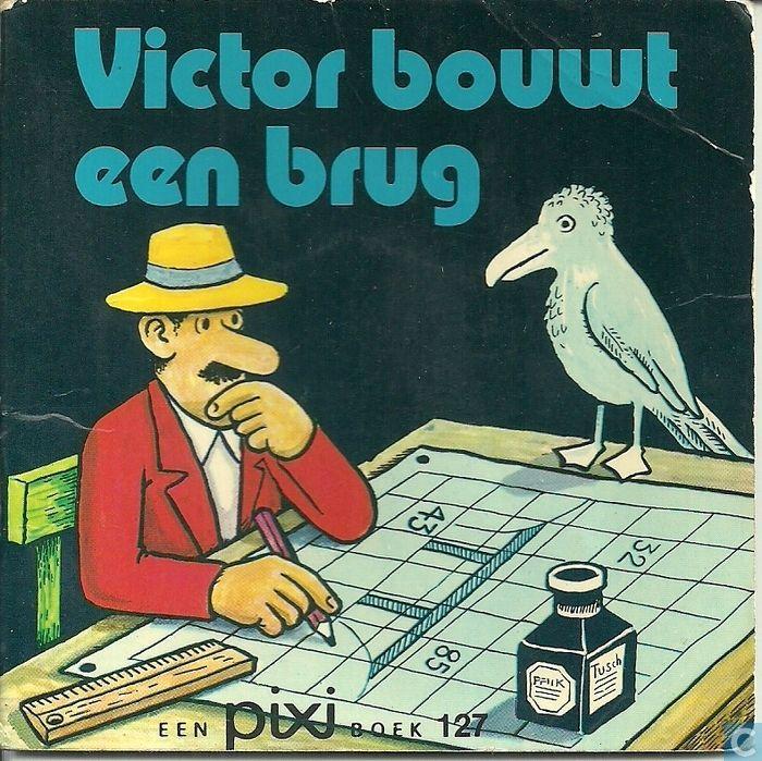 Boeken - Pixi boekjes - 2e reeks - Victor bouwt een brug