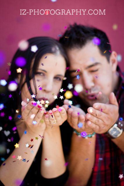 Retro Diner Engagement Couple Photoshoot