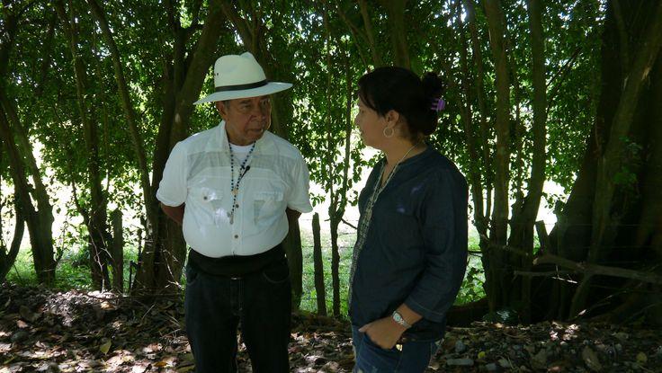 Jeny Castañeda y Ramón Isaza cuentan su historia en Desarmados.