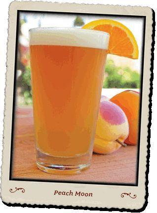 Peach Moon (Blue Moon, Peach Schnapps & Orange Juice).