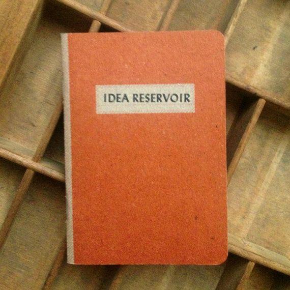 Idea Reservoir Pocket Notebook