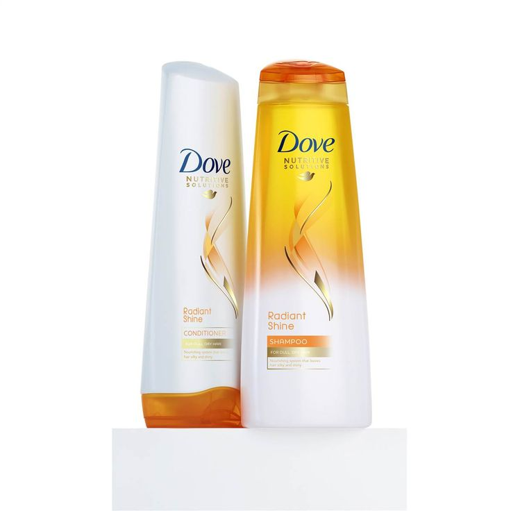 Dove Radiant Shine Shampoo and Conditioner