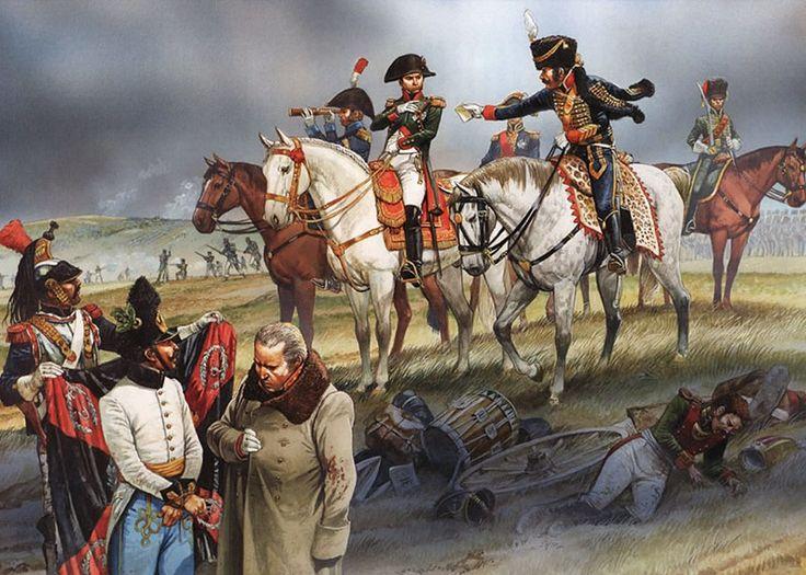 Napoleon at the battle of Austerlitz 1805