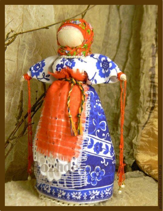 "Купить Кукла-оберег Желанница ""Исполнение желаний"" - интерьерная кукла, коллекционная кукла, кукла-оберег"