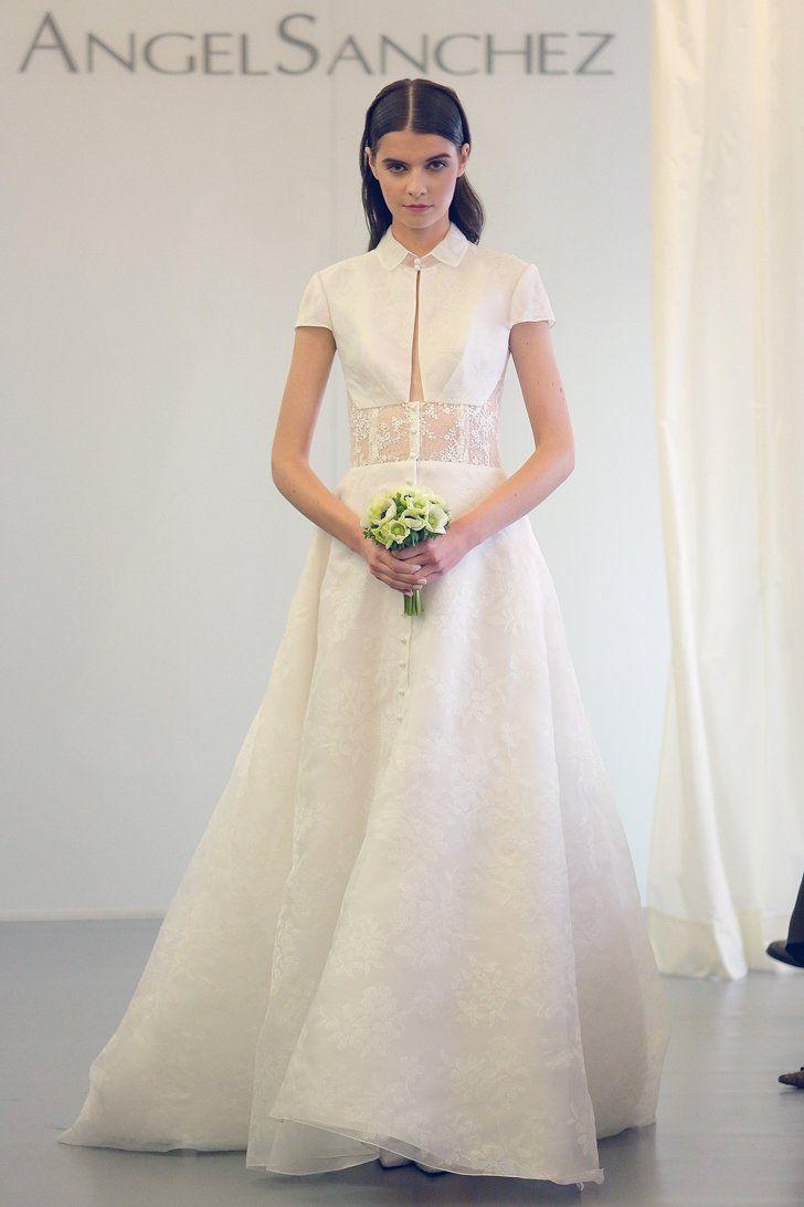 Pin for Later: Best Of: Les Plus Belles Robes de Mariée de la Bridal Fashion Week 2015 Angel Sanchez Bridal Automne 2015
