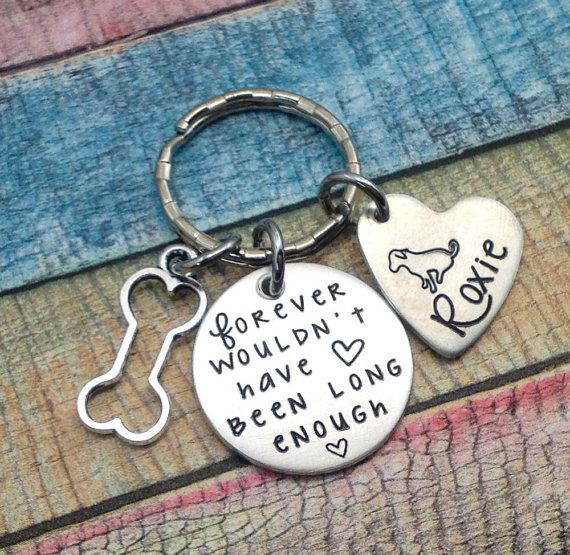Pet Memorial Keychain, Pet Loss Gift, Engraved Keychain, Dog Memorial Gift, Loss of Dog Gift, Custom Key chain, Personalized Key chain