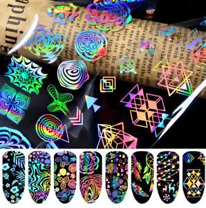 Gradient-Starry-Sky-Nail-Foil-Blue-Holographic-Paper-Decals-Decor-Nail-Art