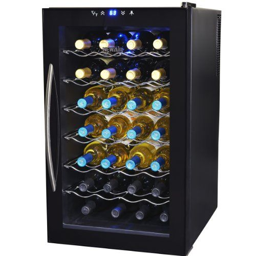NewAir AW280E 28 Bottle Thermoelectric Wine Cooler * Details can be found by clicking on the image.