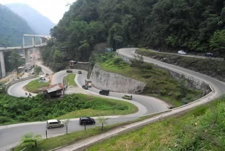 KELOK 9 FLYOVER-WEST SUMATRA-INDONESIA.  This is not just a flyover. This flyover through hills and valleys. If you're feeling adventurous with the bike. This flyover is suitable as your cycling tracks. Curved 9 means this flyover has 9 sharp bend. Very challenging isn't it?