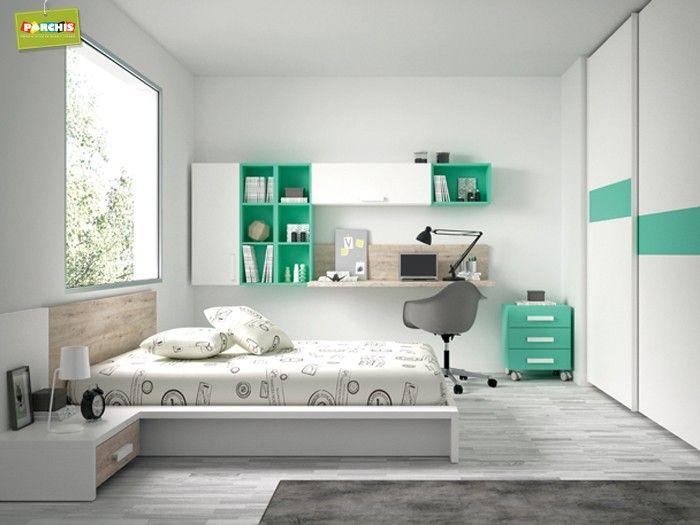 94 mejores im genes sobre dormitorios juveniles e - Dormitorios juveniles compactos ...