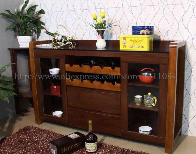 1.49 m Wood Frame Tea Cabinet minimalist modern living room red wine glass Sideboard-in Sideboards from Furniture on Aliexpress.com | Alibaba Group